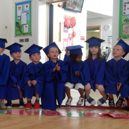 "Hundreds graduate from Telford nurseries ready for move to ""big school"""