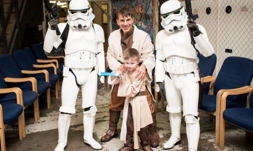 Shropshire boy's Star Wars wish comes true