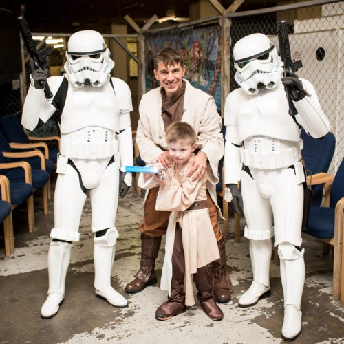 Shropshire boy's Star Wars wish comes true