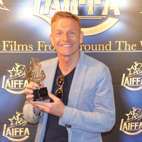 Telford born Paul Hendy scoops award at LA Independent Film Festival