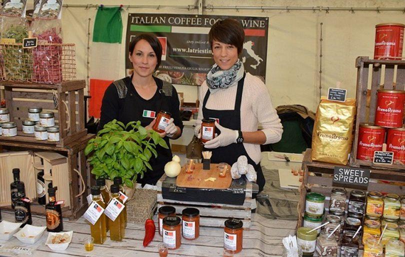 La Triestina enjoying a previous Cosford Food Festival
