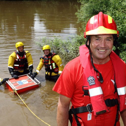 Shropshire firefighter praised for major role in UK disaster relief work