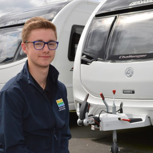 Work experience placement leads to full-time job for Aiden