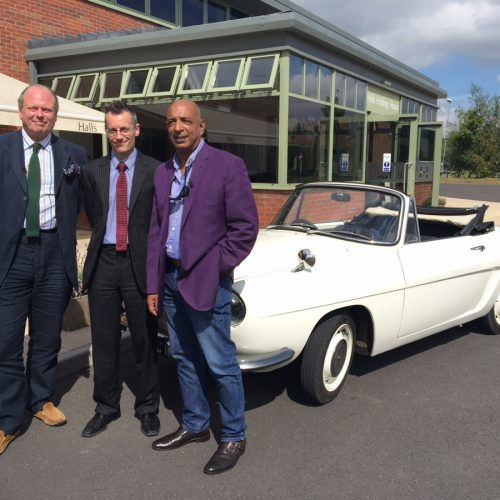 Antiques Road Trip experts pay a visit to Shrewsbury fine art auction house
