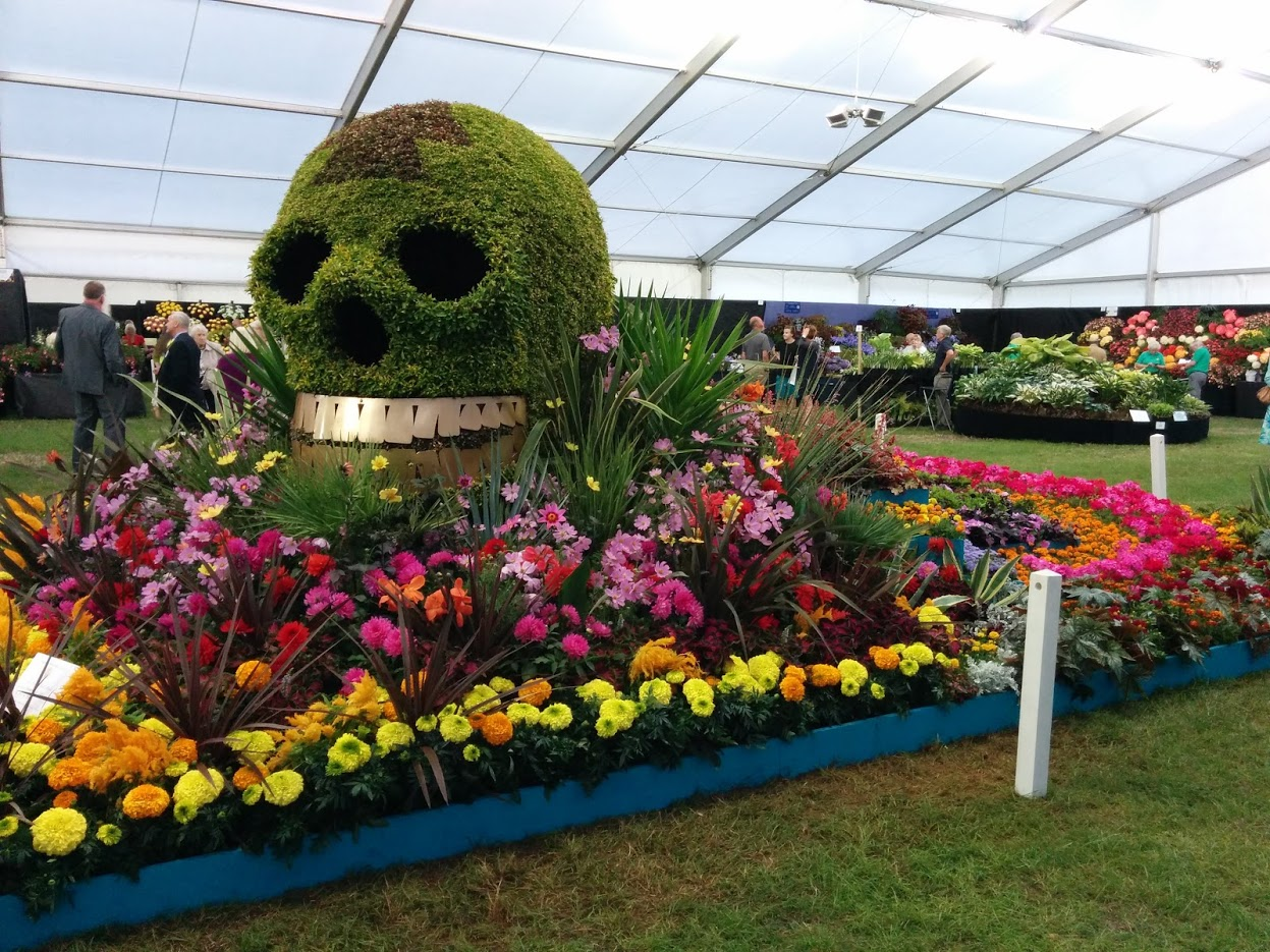 Fun for all the family at the Shrewsbury Flower Show