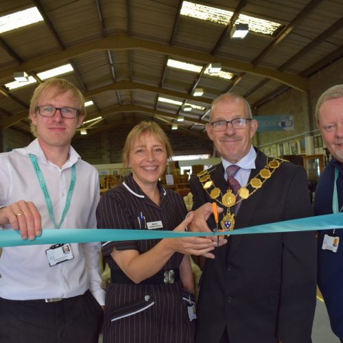 Severn Hospice opens its first furniture store