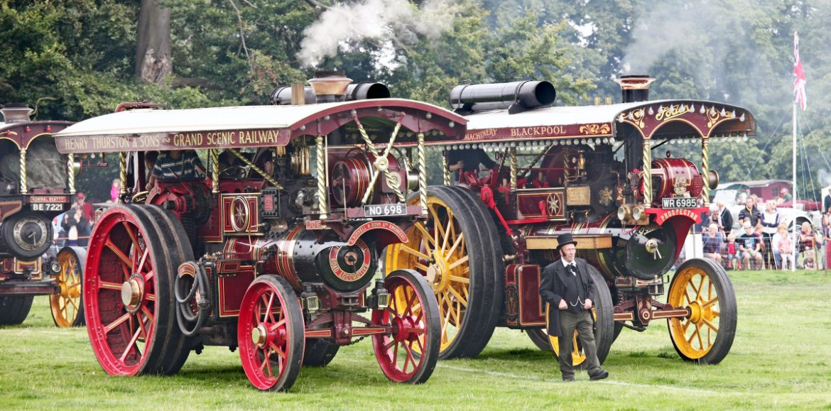 Something for all the family at Shrewsbury Steam Rally this Bank Holiday weekend