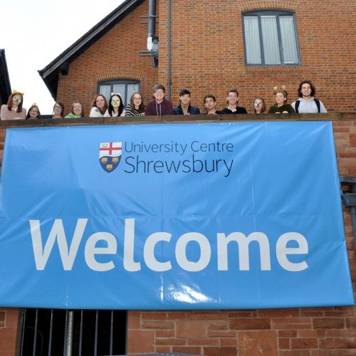 University Centre Shrewsbury prepares for the start of the new academic year