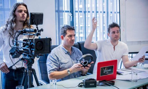 Lights, cameras, action… Movie maker praises TCAT media courses