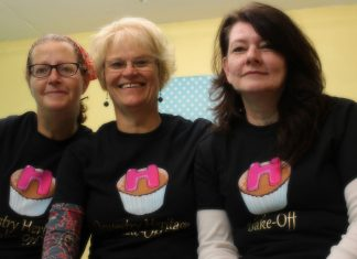 Oswestry's Heritage Bake-Off finalists