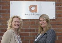 In Aaron's Shrewsbury office Lynda Richards and Sandy Edwards have been promoted to Senior Associates