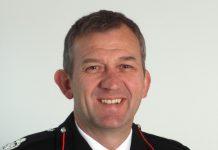 Chief Fire Officer Rod Hammerton