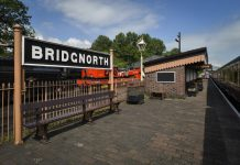 The Severn Valley Railway at Bridgnorth