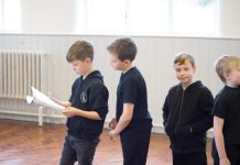 TACT's Junior Stage School runs on Wednesday Evenings and Saturday Mornings