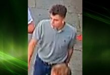 A CCTV image of a man officers would like to speak to in connection with the incident