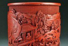 The Wang Xizhi brush pot valued at up to £40,000