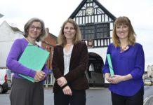 Cath Edwards, Dr Julieanna Powell-Turner and Leanne Trow