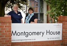 Deputy manager Michelle Humphries and Manager Tracie Peate prepare to welcome guests to the Montgomery House open days