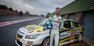 Race winning MINI Challenge driver Rob Smith. Photo: Mark Campbell/CarSceneUKMedia