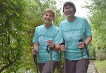Steph and Leslie, adventure fundraisers