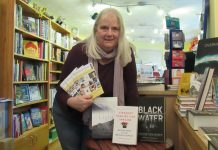 Festival chair, Susan Caroline, of Pengwern Books