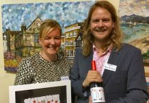shrewsbury-artist-lyn-evans-and-shrewsbury-winemaker-thomas-holt