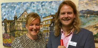 shrewsbury-artist-lyn-evans-and-shrewsbury-winemaker-thomas-holt