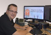 James Prince of Midland Web Team, Midland Computers, Telford