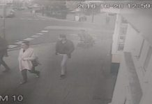 CCTV image of the three people police would like to trace