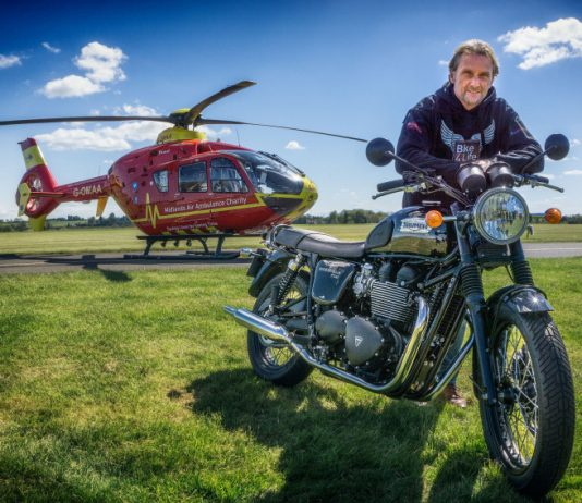 Carl Fogarty, is returning to lead the Bike4Life Ride Out in Shropshire next year. Photo: Nigel Harniman