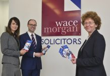 Emma Jacobs, Jonathan Edwards, Fiona Barnes of Wace Morgan