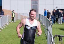 Lee Hassan, General Manager of Teme Leisure, and Chairman of Teme Leisure Triathlon Club