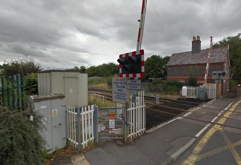 Harlescott Crossing in Shrewsbury. Photo Google Streetview