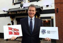 Mike Matthews, owner of the Prince Rupert and Chairman of Shrewsbury BID