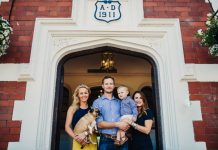 The Marson Family at Tern Hill Hall