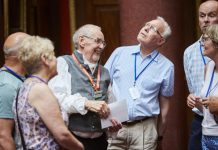 Mansion volunteers helping share the stories of the impressive Georgian estate at Attingham. Photo: National Trust/ Arnhel de Serra