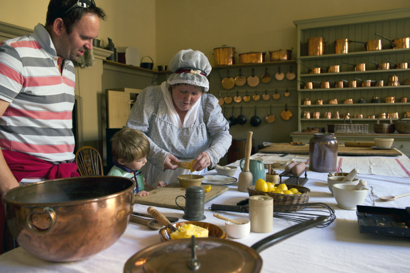 The Mansion Kitchen at Attingham Park. Photo: National Trust / John Millar