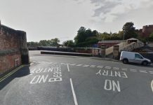 The incident happened on the junction with Beacalls Lane and the Dana foot bridge. Photo: Google Street View