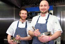Ben and Jake Watson at the WheatSheaf, Whitchurch