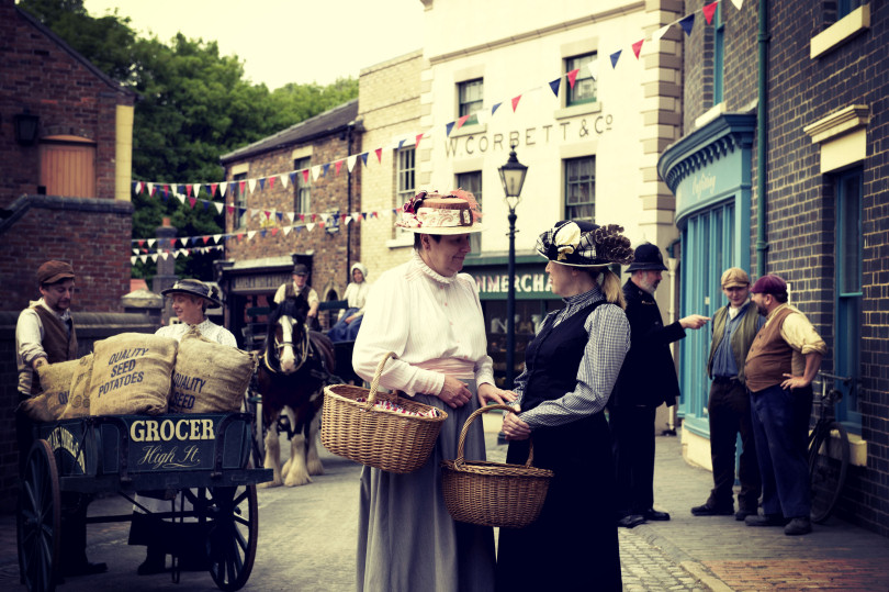 Blists Hill Victorian Town, near Ironbridge where everyday Victorian life is recreated