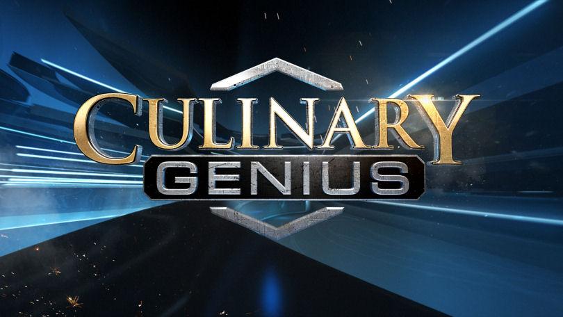 Culinary Genius ITV logo