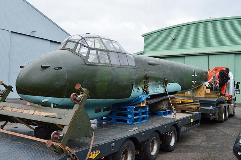 The Junkers Ju88 will go on display at RAF Museum Cosford. Photo: ©Trustees of the Royal Air Force Museum