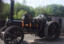 A Linkey 12 NHP K7 Ploughing engine - built 1917 it is now 100 years old