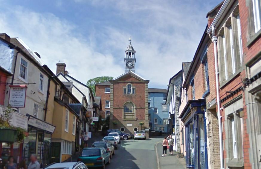 Bishops Castle High Street. Photo: Google Street View