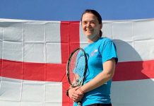 Shropshire's Holly Mowling - looking forward to captaining England's over-35s ladies tennis team next month