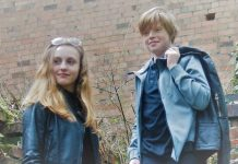 Liv Turner and guitarist Jay Harris from Newport are taking part in this year's Big Busk