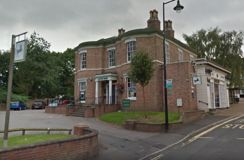 Lloyds Bank on High Street in Madeley. Photo: Google Street View
