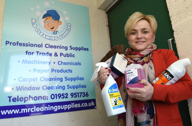 MR Cleaning Supplies operations manager Nikki McCreadie