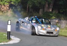 Record breaker Sarah Bosworth in action at Loton Park