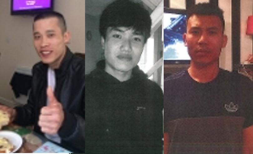 Missing: Tuan Van Nguyen, Dung Dinh and Cong Van Nguyen